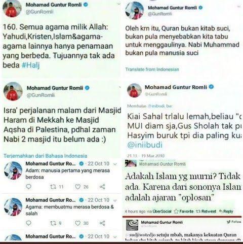 Syiah, Guntur Romli Ancaman bagi Indonesia*