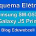 Esquema Elétrico Samsung SM-G570F Galaxy J5 Prime - Manual de Serviço