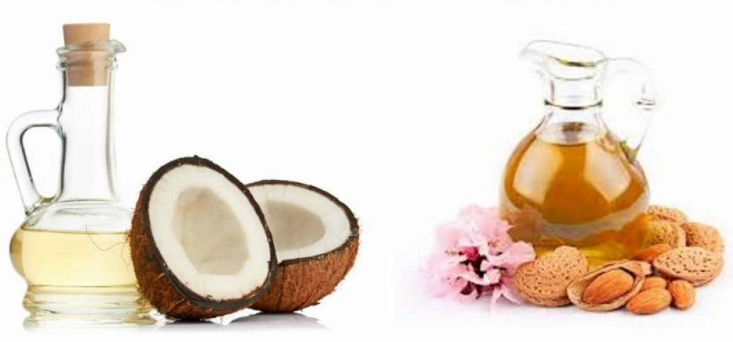 Almond Oil with Coconut Oil | The Girls Beauty Bible