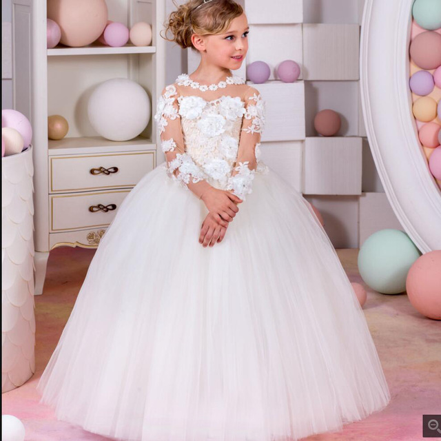 Vestidos de fiestas infantiles elegantes