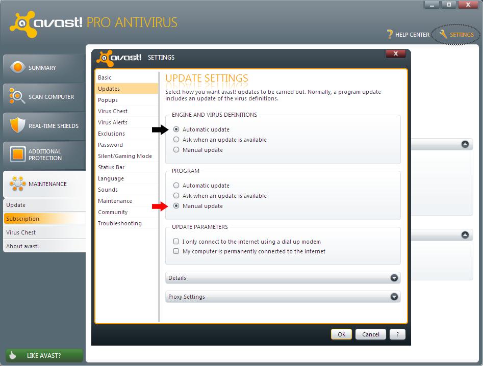 avast pro antivirus key free download