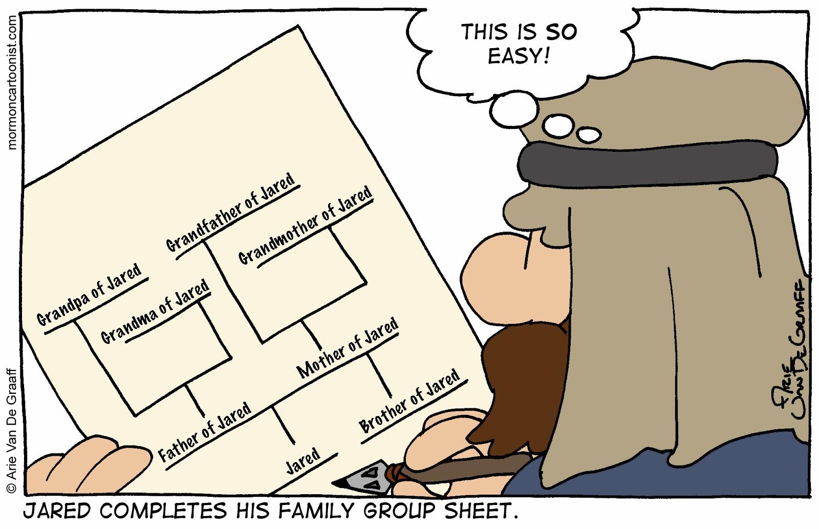Ward Cartoonist January