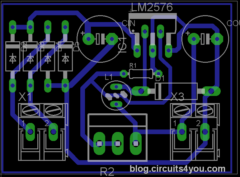 Adjustable 0 35v 3amps Dc Power Supply Circuits4you Com