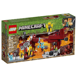 Minecraft The Blaze Bridge Lego Set