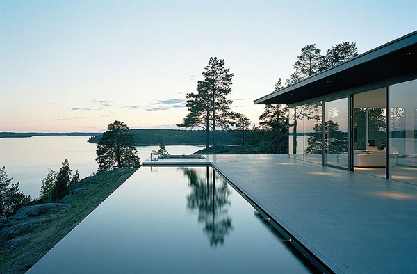 Modernist home in Sweden, architect John Robert Nilsson
