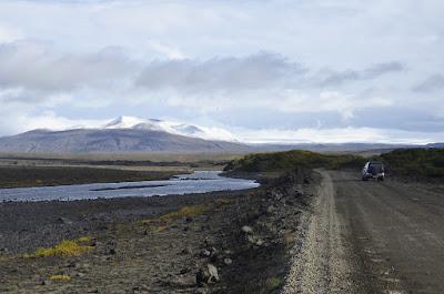Carretera F ruda y sin asfaltar en Islandia