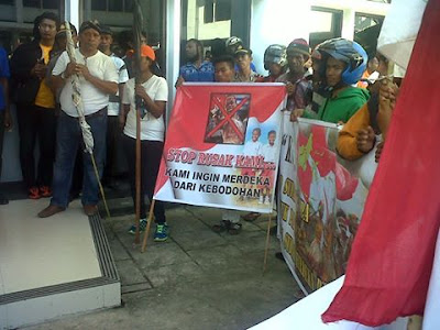 Press Release on Militia Force In West Papua