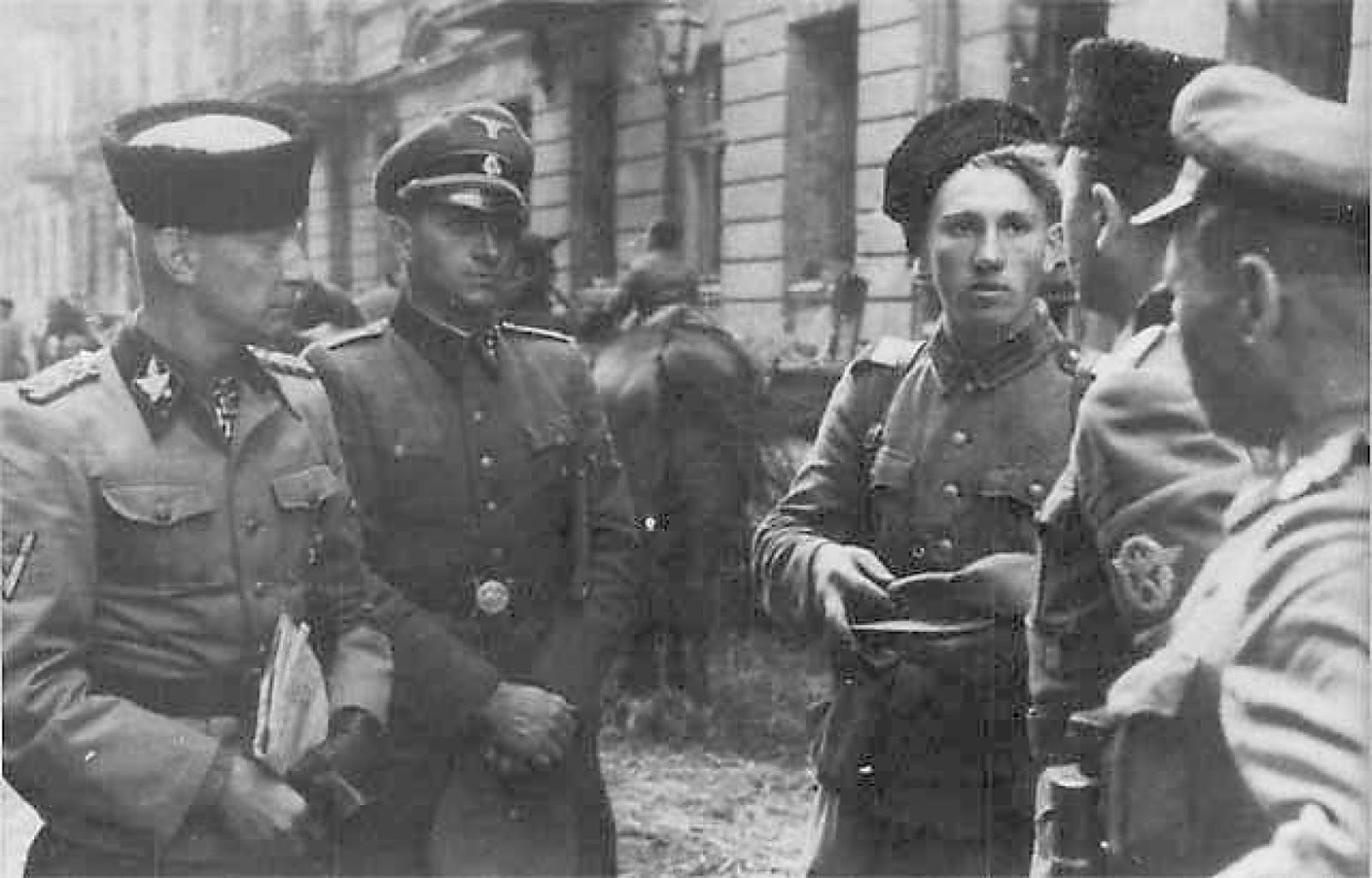 Кубанские казаки на службе у Вермахта