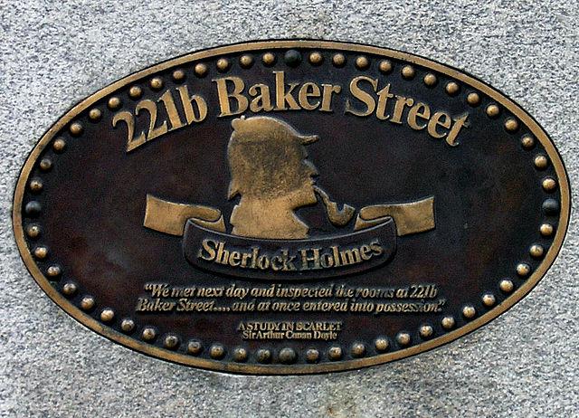 221b, Baket St, London