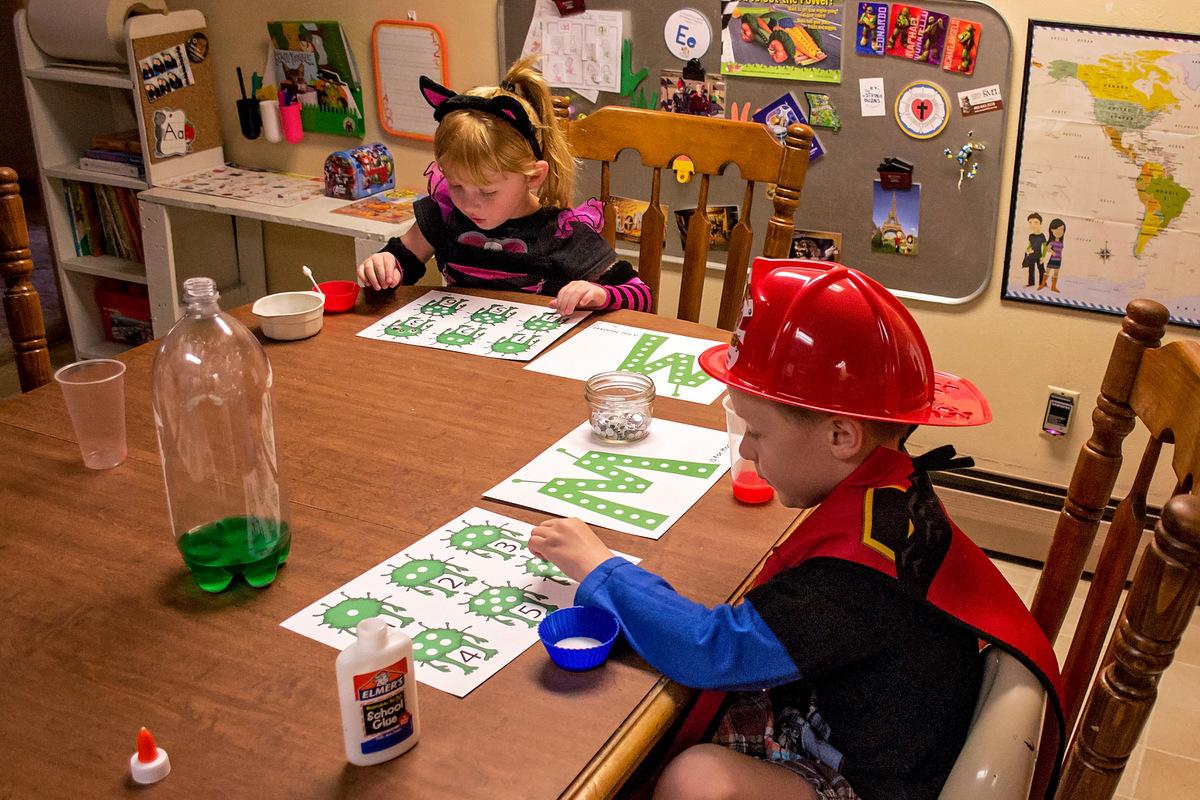 Fall Flashback Monster Preschool Fun Math And Science
