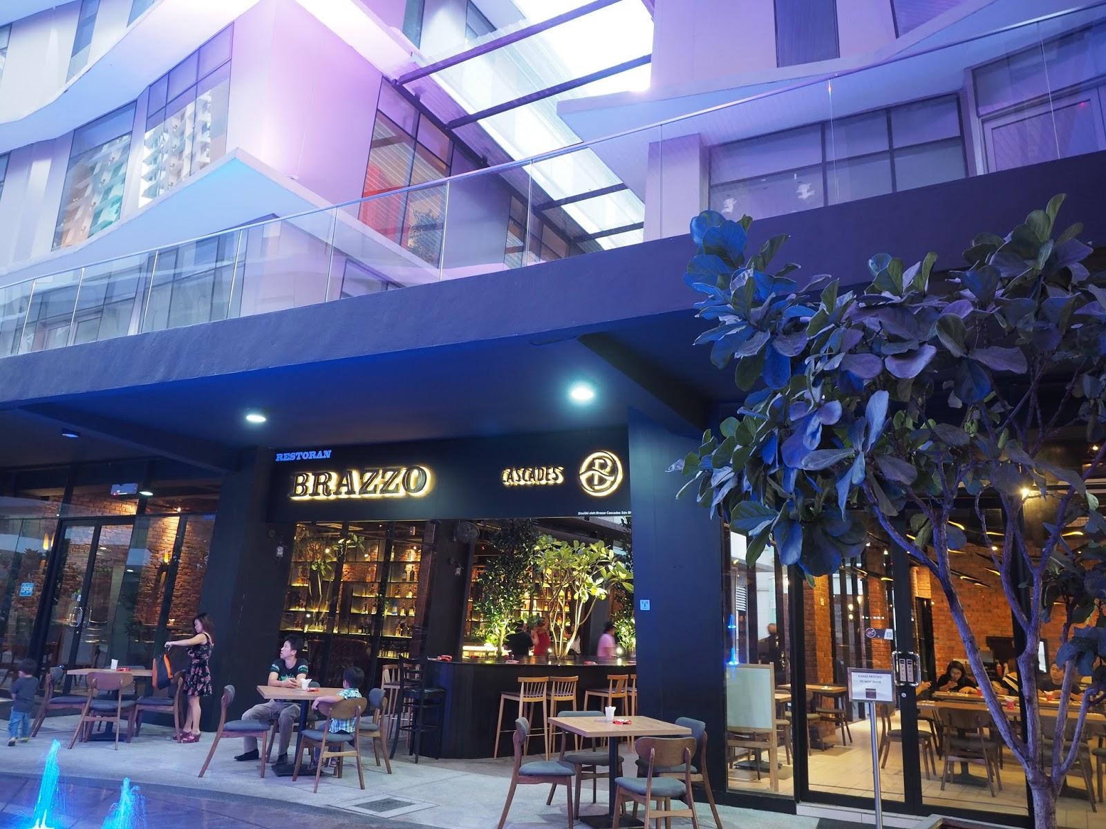 Food brazzo cascades dataran cascade for Food bar kota damansara