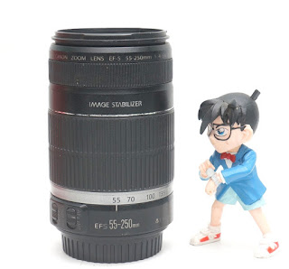 Jual Lensa Bekas Canon 55-250mm