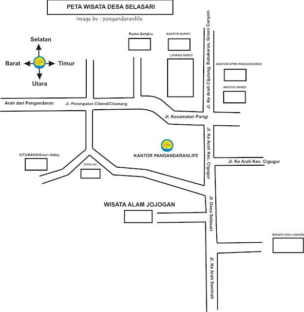 Peta Wisata Desa Selasari
