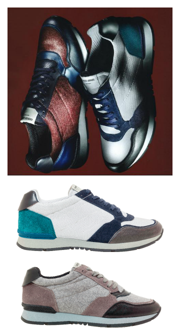 sneakers moda Armani runner tendencias