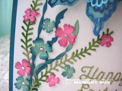 holy week happy easter butterfly card flower detail