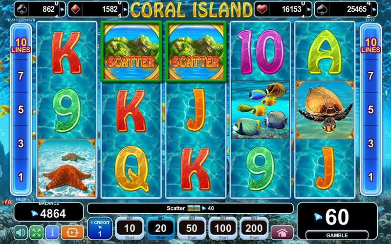Jucati acum Coral Island Slot Online