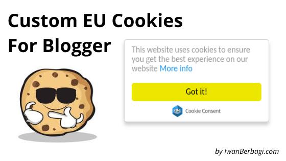 Cara Mudah Memasang Custom EU Cookies Notification Bar
