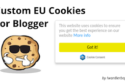 Cara Mudah Memasang Custom EU Cookies Notification Bar