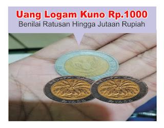 harga-uang-logam-kuno-Rp. 1000