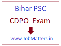 image : Bihar Child Development Project Officer Pre. Exam Online Application Form 2017 @ JobMatters.in