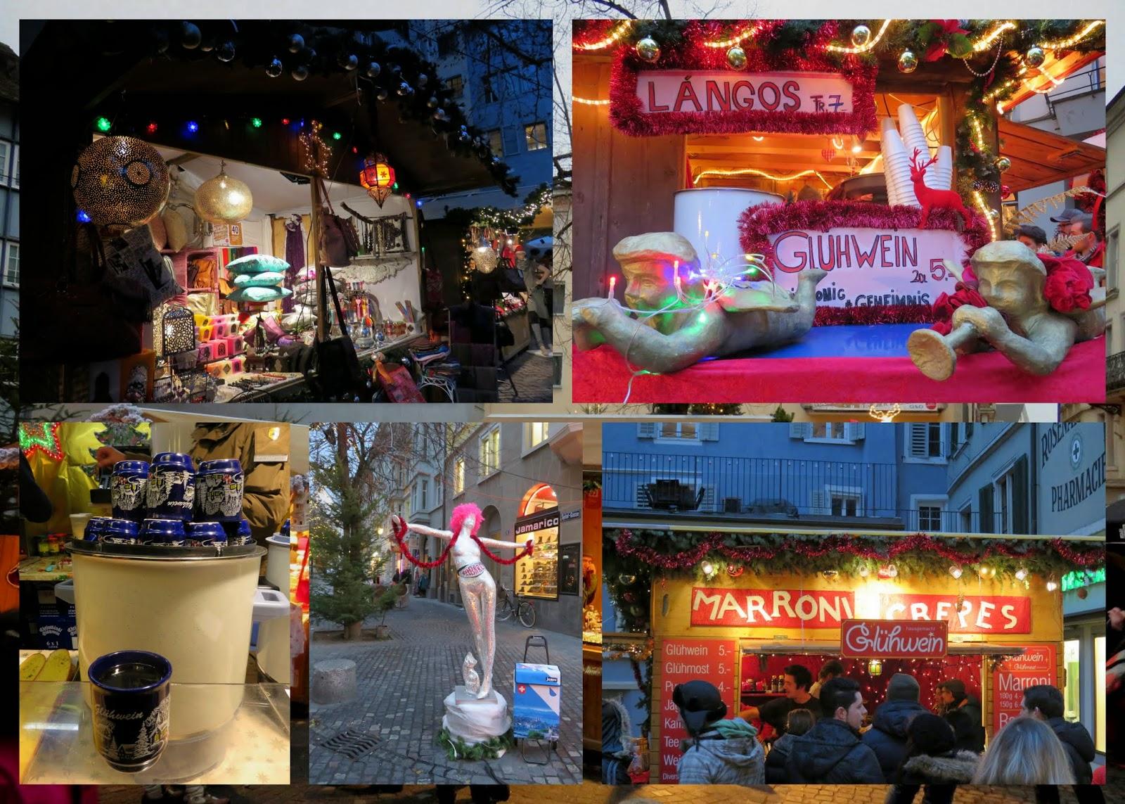 Zurich Old Town Christmas Market