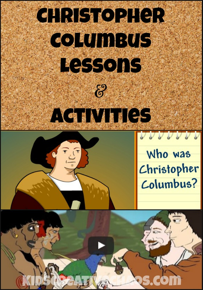 Columbus Day Online Lessons and Activities