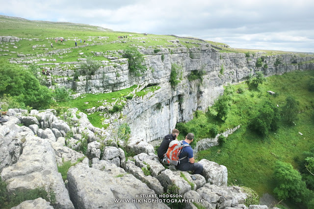 Malham Cove view via Gordale Scar Walk and Malham Tarn, Yorkshire Dales