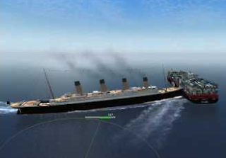 Sinking Ship Simulator Game