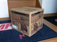 takagi 散水ホースリール R220TBR タフブラウン20M 段ボール梱包箱