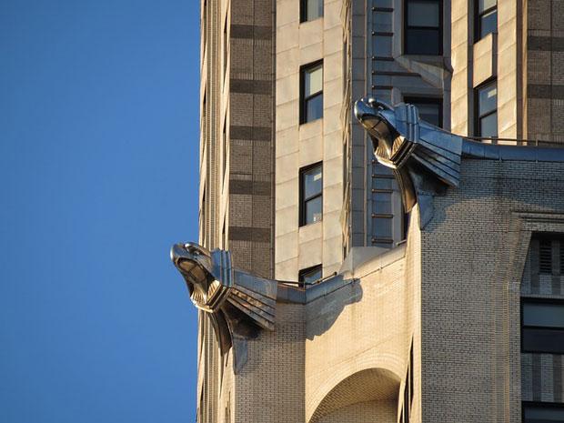 Edificio Chrysler gargolas