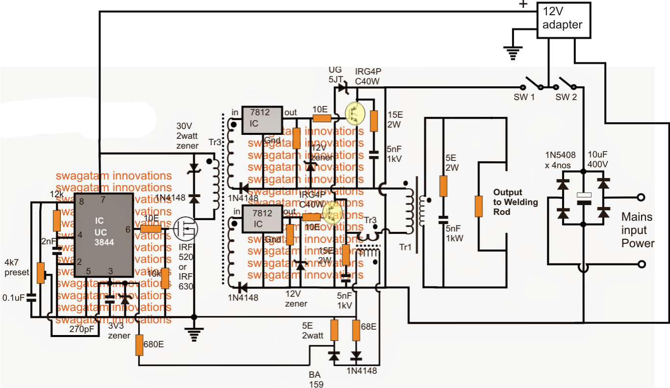 welder inductor schematic  welder  get free image about