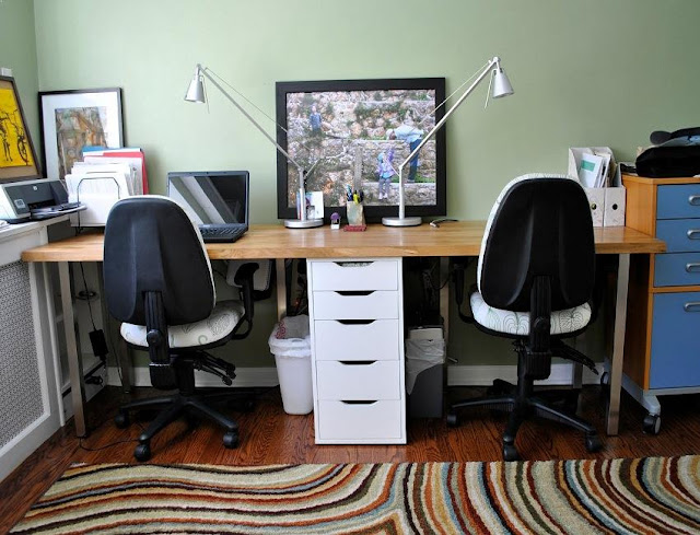 best buy home office furniture Woodbridge for two sale cheap