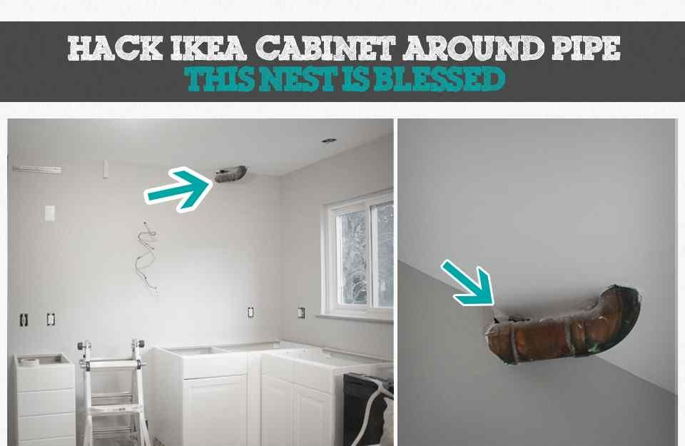 How To Hide A Soffit In Akurum Upper Cabinet Ikea Hackers