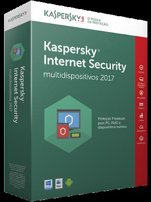Experimente o Kaspersky Internet Security 2017 Gratuitamente por 90 dias