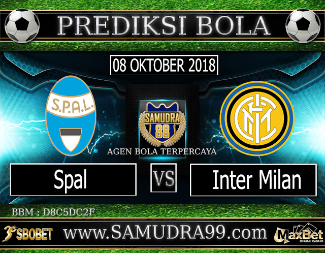 PREDIKSI TEBAK SKOR JITU SPAL VS INTER MILAN 08 OKTOBER 2018