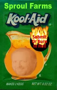 RC Sproul Jr cult leader drinking the Kook-Aid