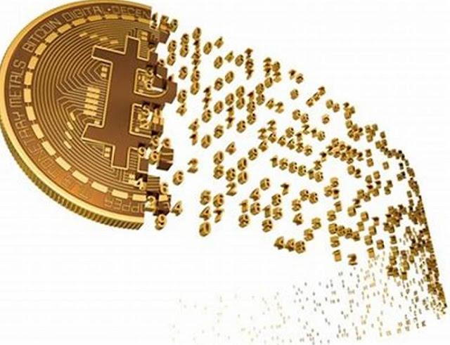 Showing Bitcoin Artistically in a trailer mode