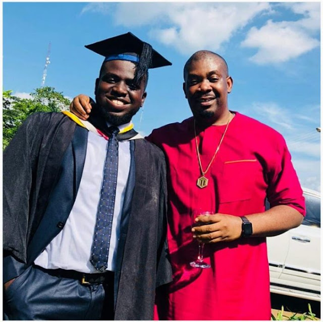 Don Jazzy Celebrates His Cousin As He Graduates From Babcock University [Photos]