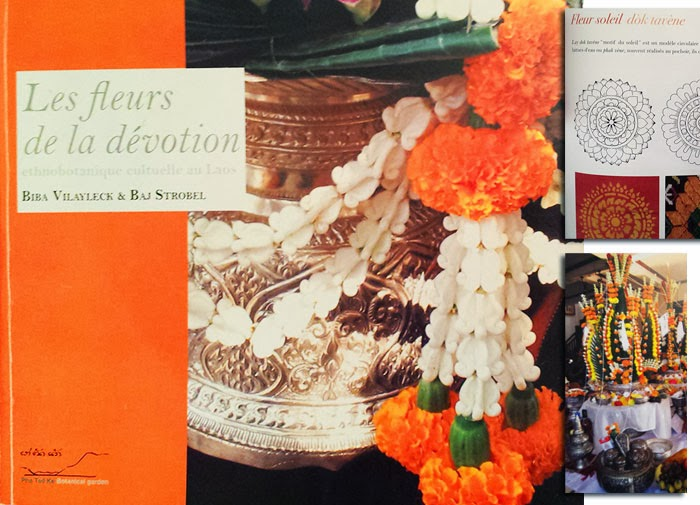 Lao book review - Les fleurs de la dévotion - ethnobotanique cultuelle au Laos / The Flowers of devotion - ethnobotanical culture of Laos