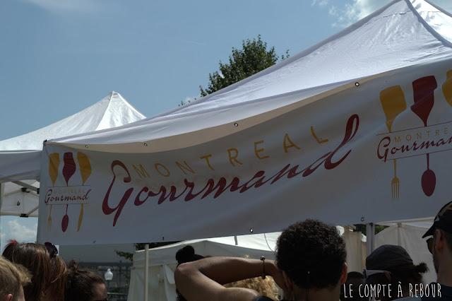 Montréal Gourmand au Vieux Port