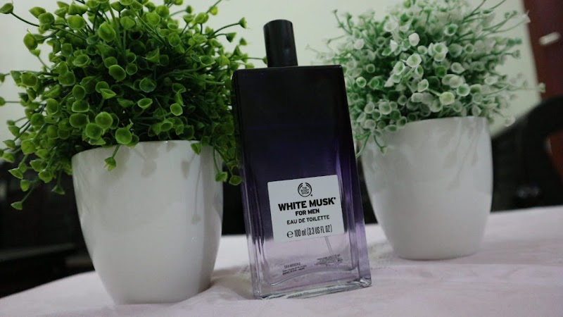 Review : White Musk For Men Eau De Toilette The Body Shop