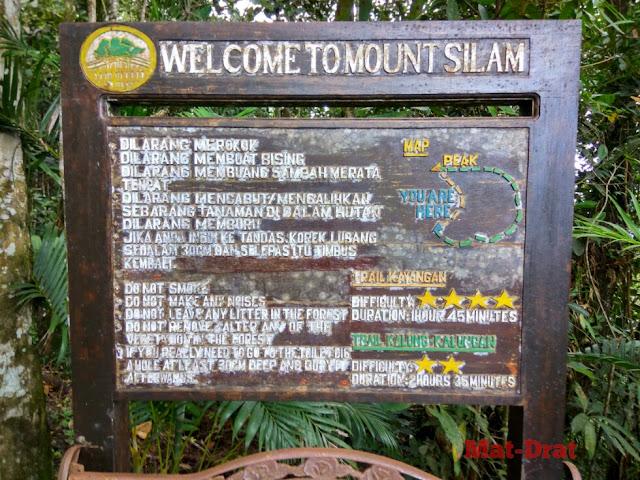 Tempat Menarik di Lahad Datu Silam Mount Map