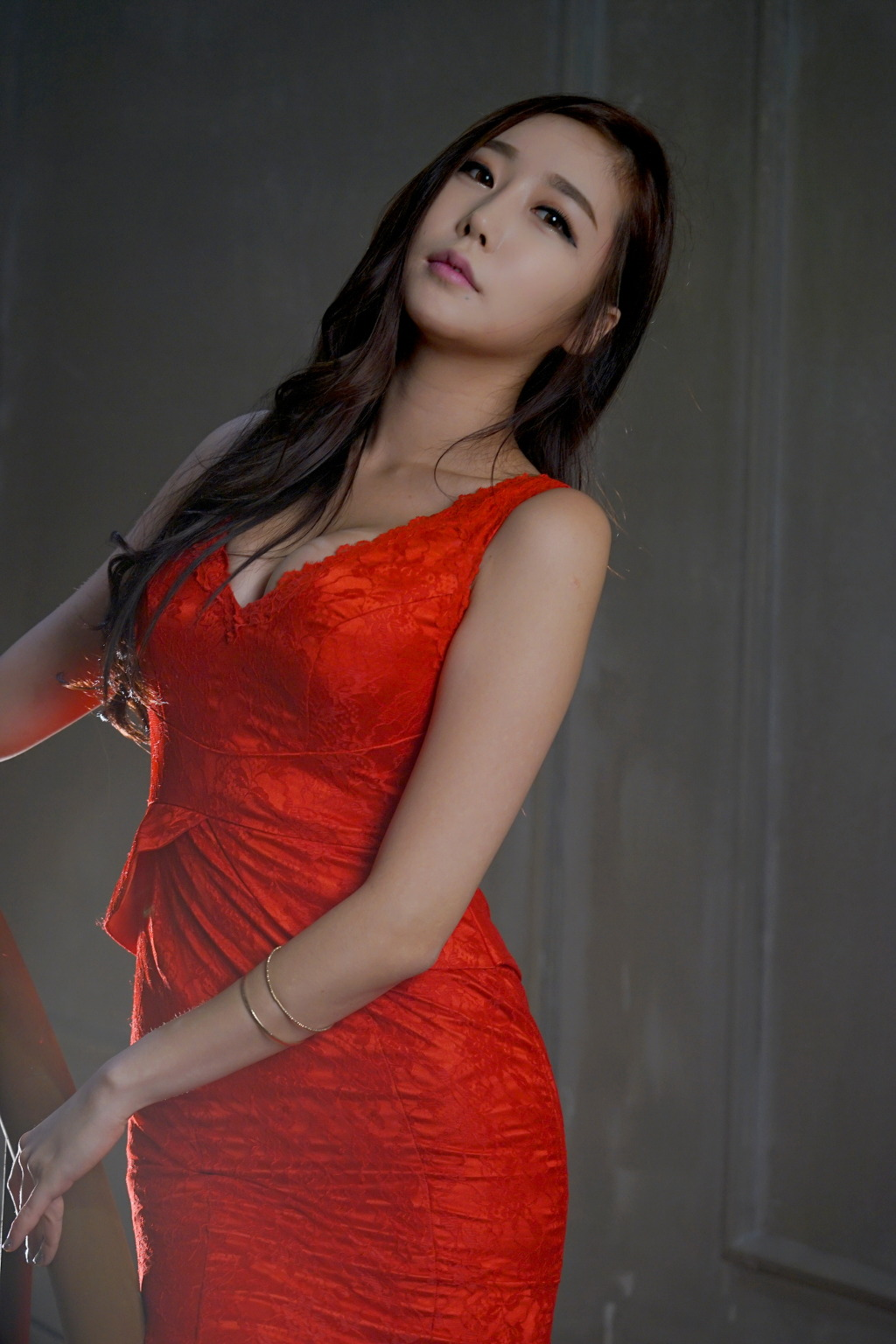 Kim Da On - 2015.5.10 Red Dress