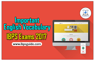 "Important English Vocabulary Reference ""The Hindu"" for IBPS Exams 2017 - Download in PDF"