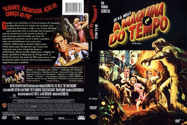 Capa DVD A Máquina do Tempo