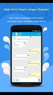 liteBig Messenger pesan
