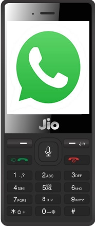 Download WhatsApp in Jio phone : Good news for Jio Phone users