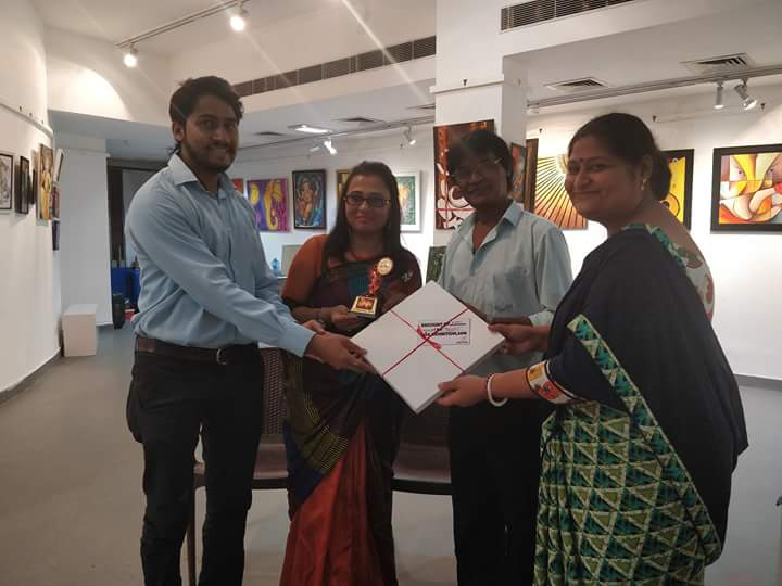 Winner of Vigganharta-National Art Exhibition Cum Competition