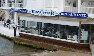 Restaurante Rocamar, Peñíscola.