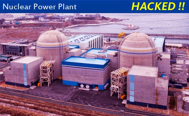 South Korean Nuclear Power Plant Hacked